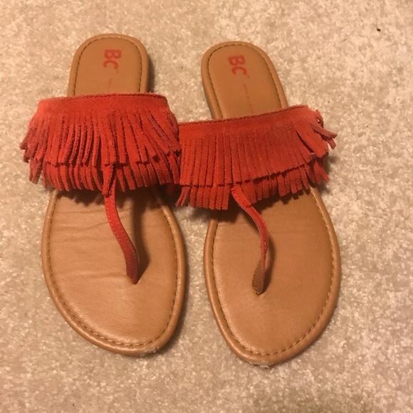 BC Footwear Shoes - BC flip flops—womens 7.5